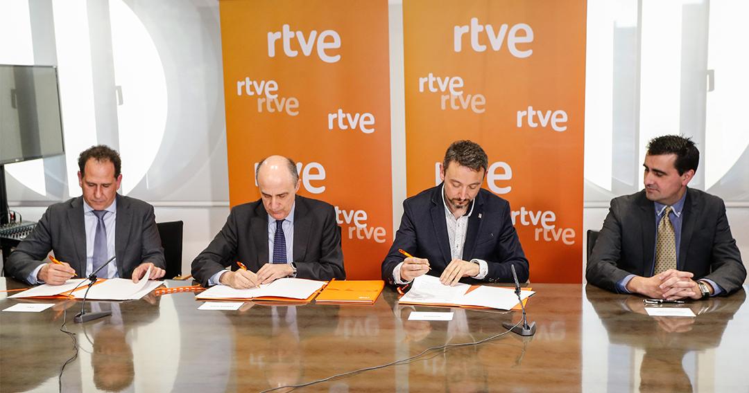VSN firma convenio con RTVE para el proyecto Journalism Innovation HUB