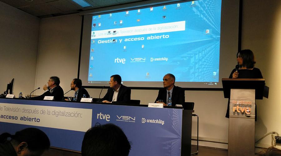 Éxito de asistencia en la II Jornada de Archivos y TV del Fondo Documental de RTVE con VSN como partner tecnológico