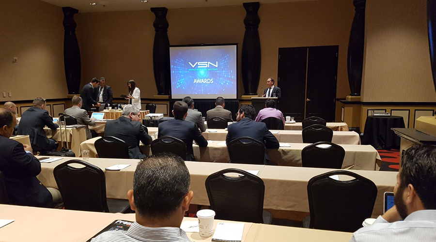 NAB Show 2018 starts with VSN keynote for its dealers in the Latin America region