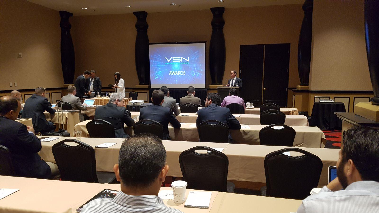 Keynote de VSN para dealers de Latinoamérica en NAB Show 2018