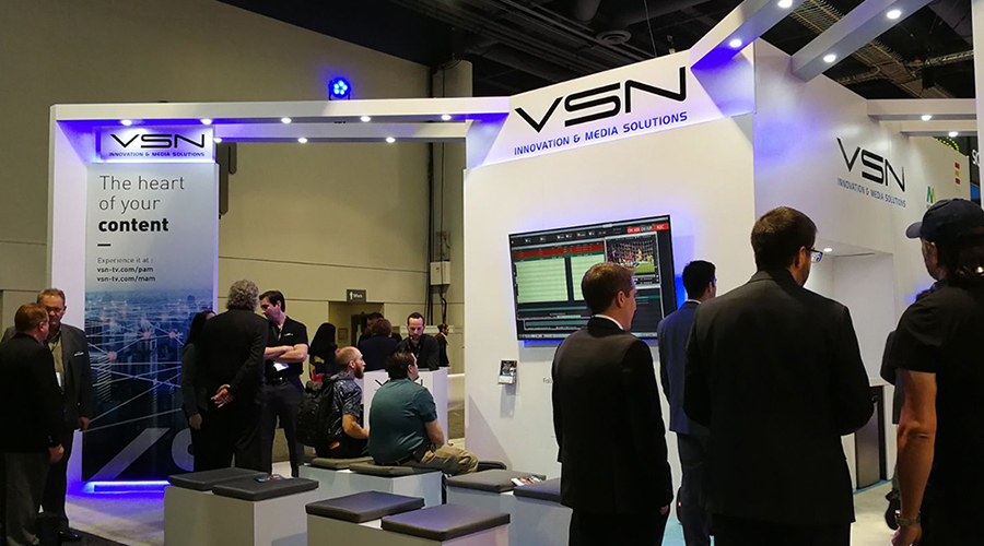 Absolute success for VSN in its first NAB Show 100% in the Cloud