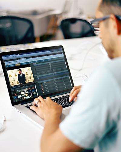 Editor de vídeo 100% basado en web para ediciones por corte rápidas en la interfaz de VSNExplorer