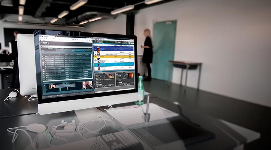 VSN presenta su nuevo web plugin para producción de noticias y eventos en directo en NAB 2018