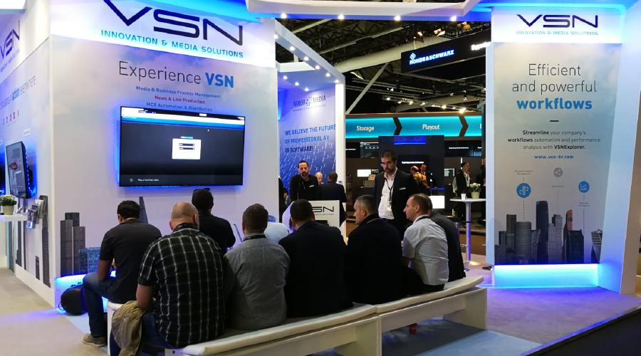 Éxito absoluto de VSN en IBC 2018