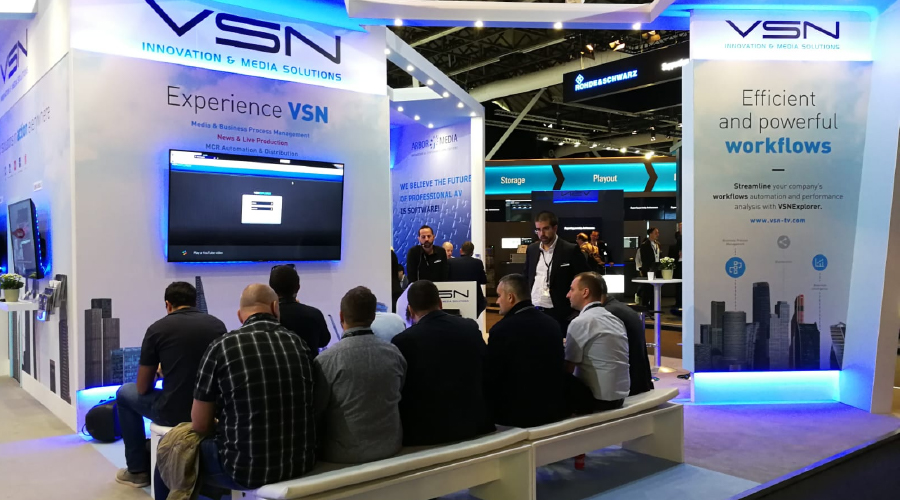 An absolute success for VSN at IBC 2018
