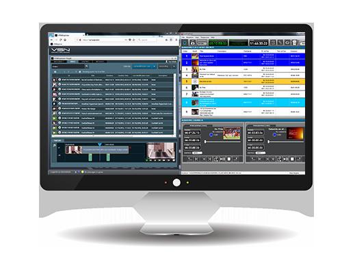 Newsroom computer system VSNNEWS (Sistema de edición de noticias)