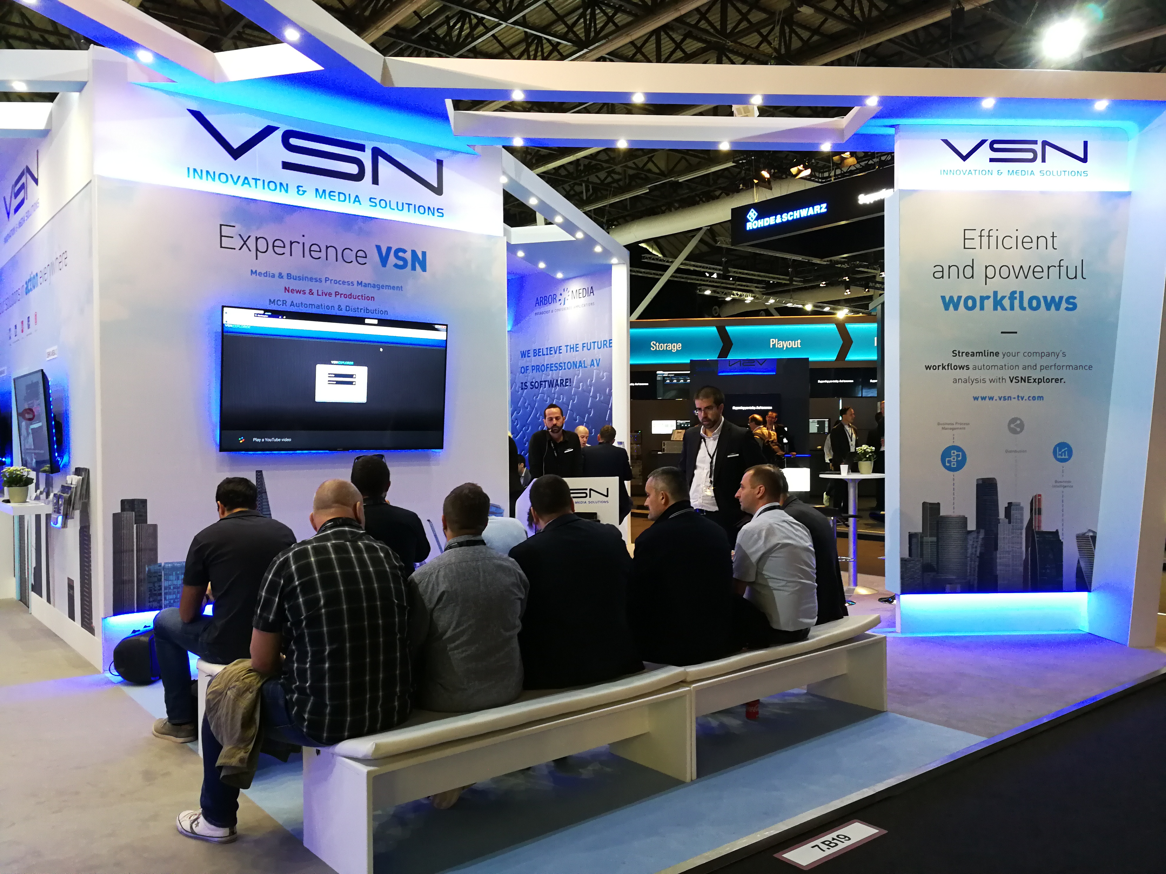Live demo of VSN's solutions at IBC 2018