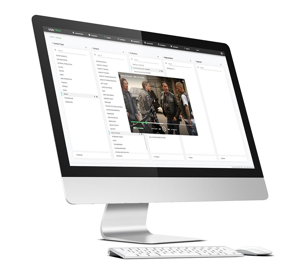 Nuevo sistema de tráfico y planificación HTML5, VSNCrea