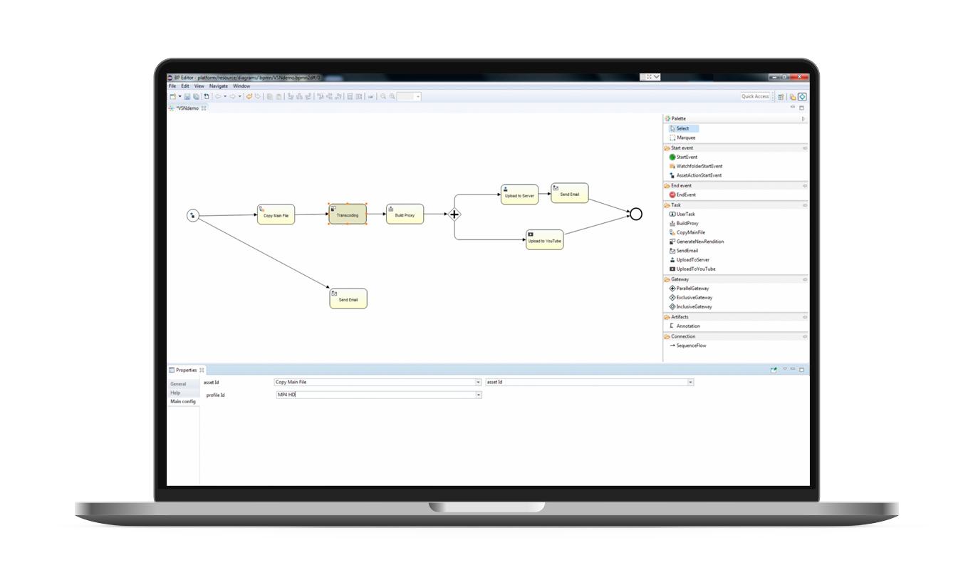 Nuevas herramientas de VSNExplorer para gestión avanzada de media y flujos de trabajo