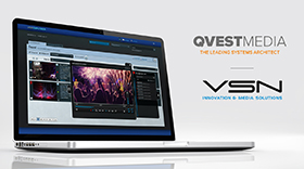 VSN announces partnership with Qvest Media for an Enhanced Media Management Solution in the Cloud