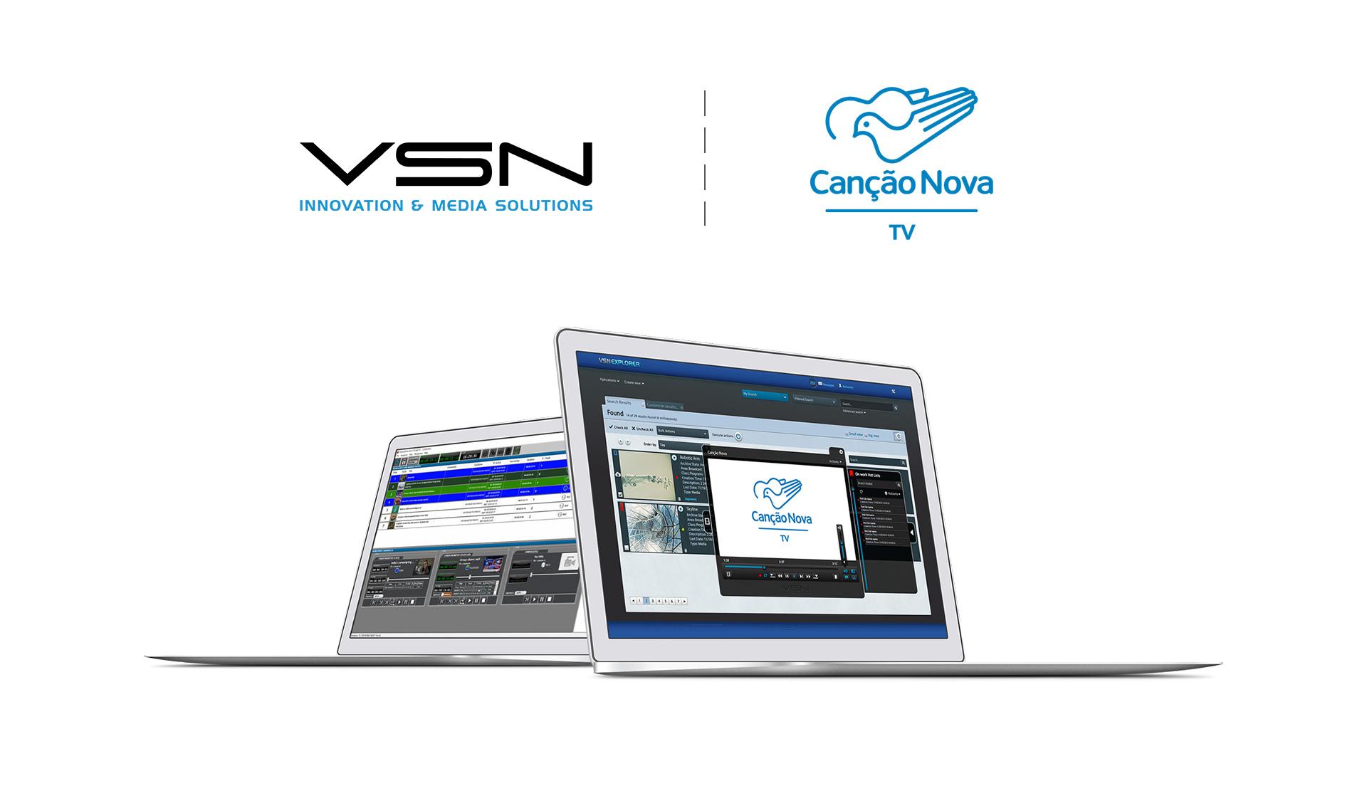Canção Nova apuesta de nuevo por la tecnología VSN para renovar su solución End-to-End