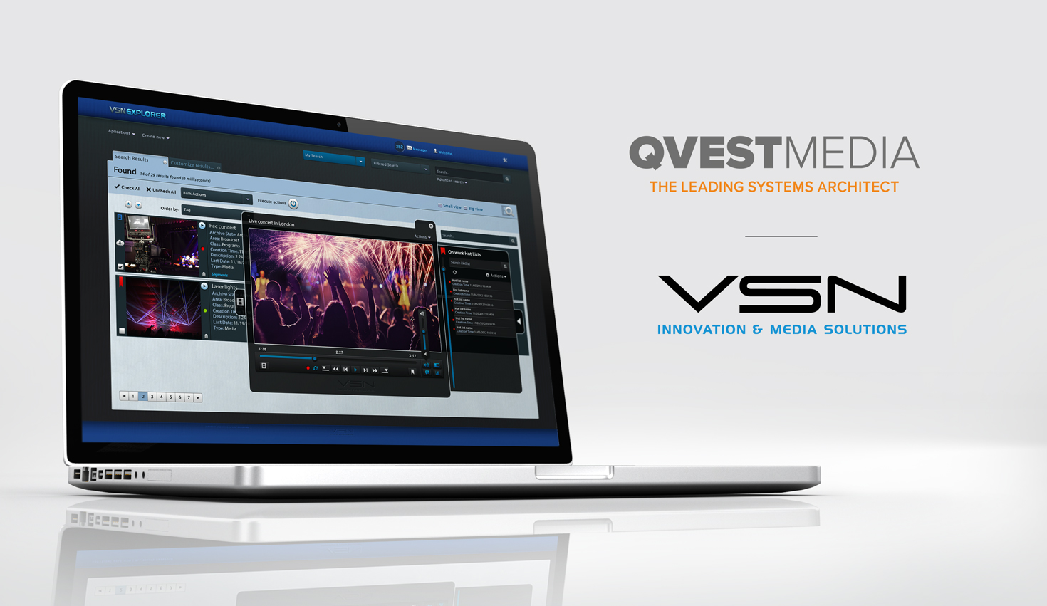 VSN and Qvest Media bundle their cloud management capabilities