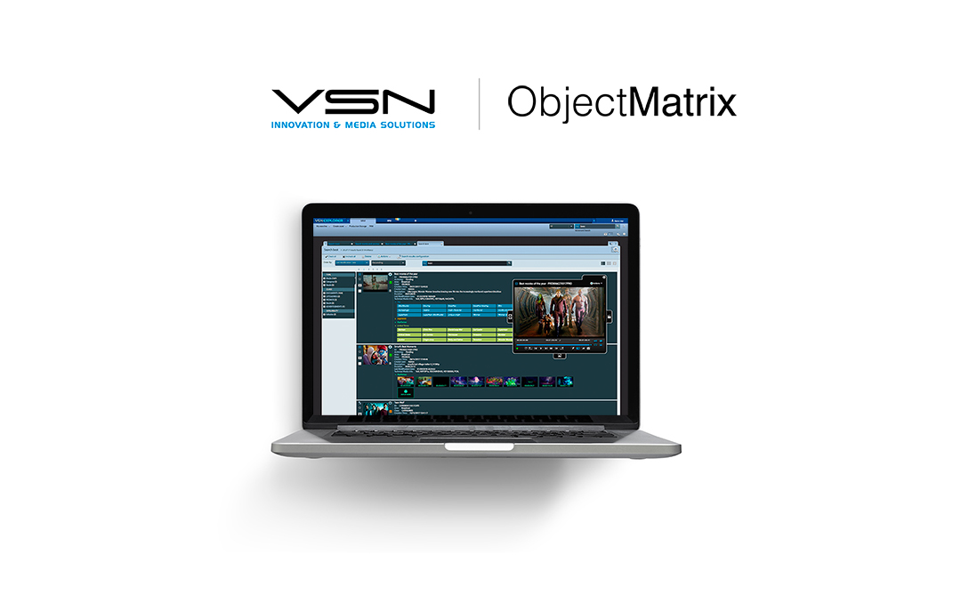 VSN y Object Matrix integran sus productos para conseguir una solución de archivo y gestión de media mejorada