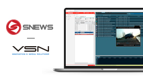 VSN announces new partnership with SNEWS for Enhanced and Interoperable News Production