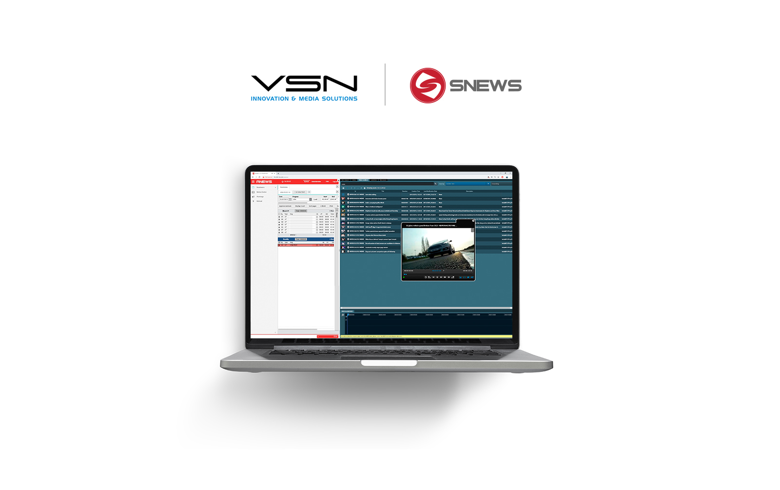 VSN partnership with SNEWS