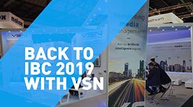 VSN anuncia nuevo webinar: Todo lo que nos dejó IBC 2019