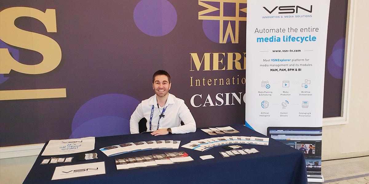 Roberto Pascual, Global Sales Director of VSN at FIAT/IFTA 2019