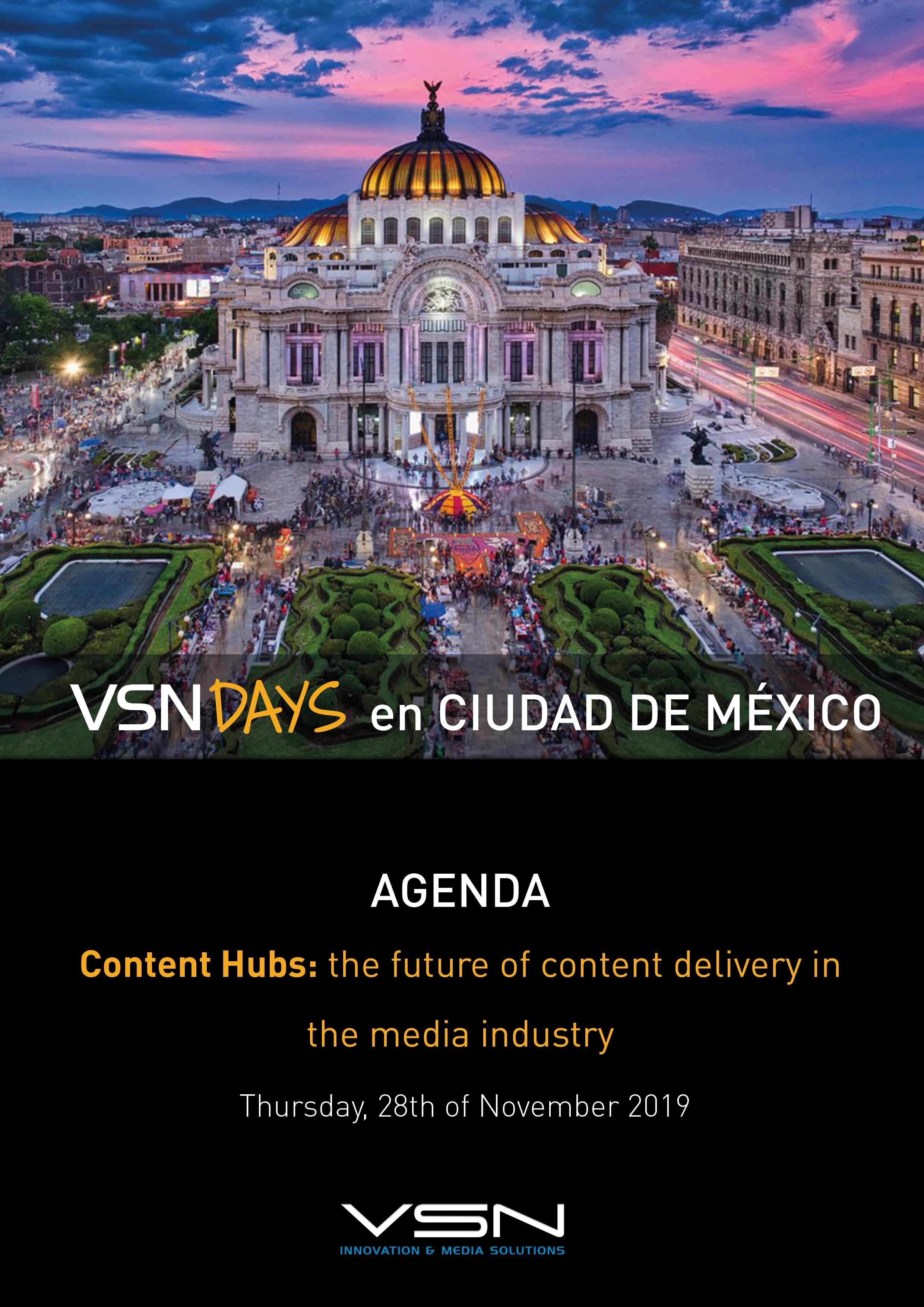 VSNDAYS-Mexico-Agenda