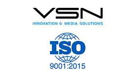 VSN announces the renewal of the ISO 9001: 2015
