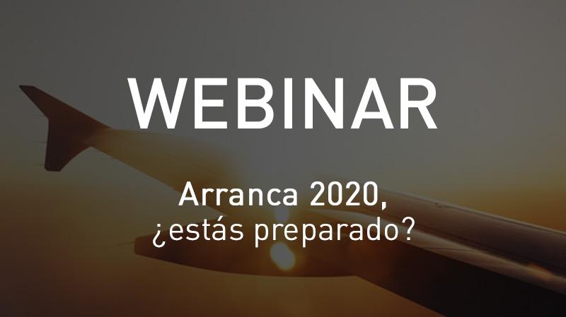 Webinar Arranca 2020, ¿estás preparado?