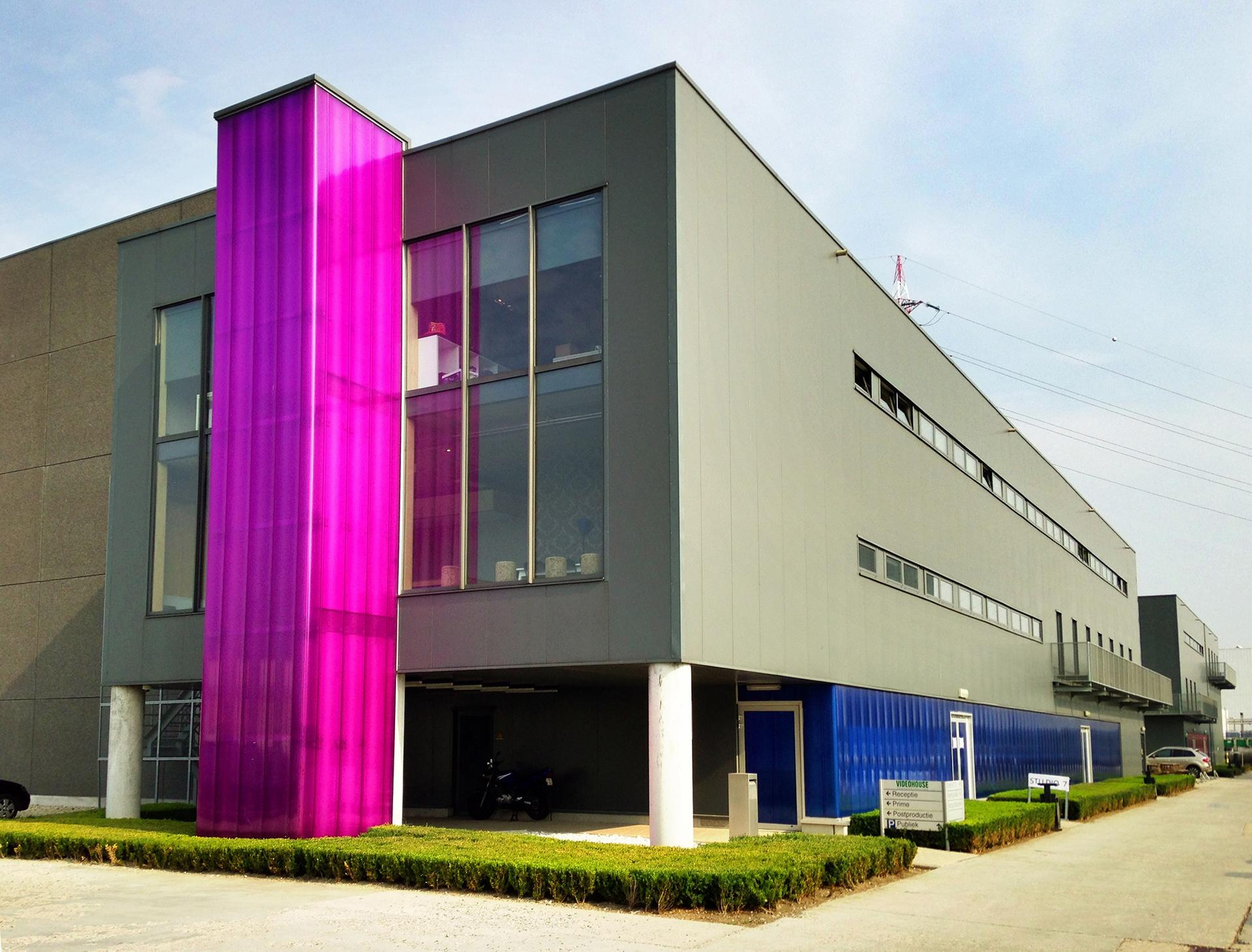 Oficinas centrales de Videohouse en Bélgica