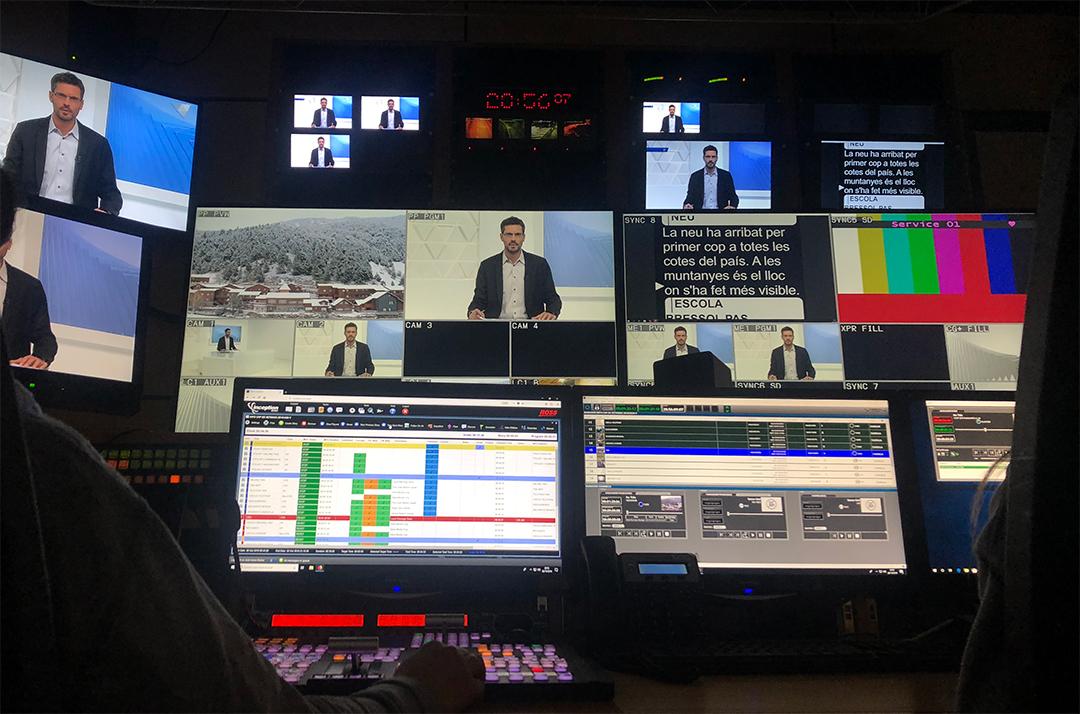 VSN's news production solution installed at RTVA Andorrra