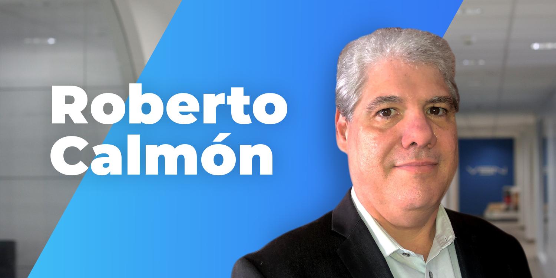 Roberto Calmón en las oficinas de VSN