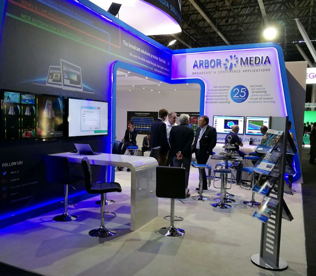 VSN and Arbor Media showcase their unique solution for advanced media monitoring at IBC 2017