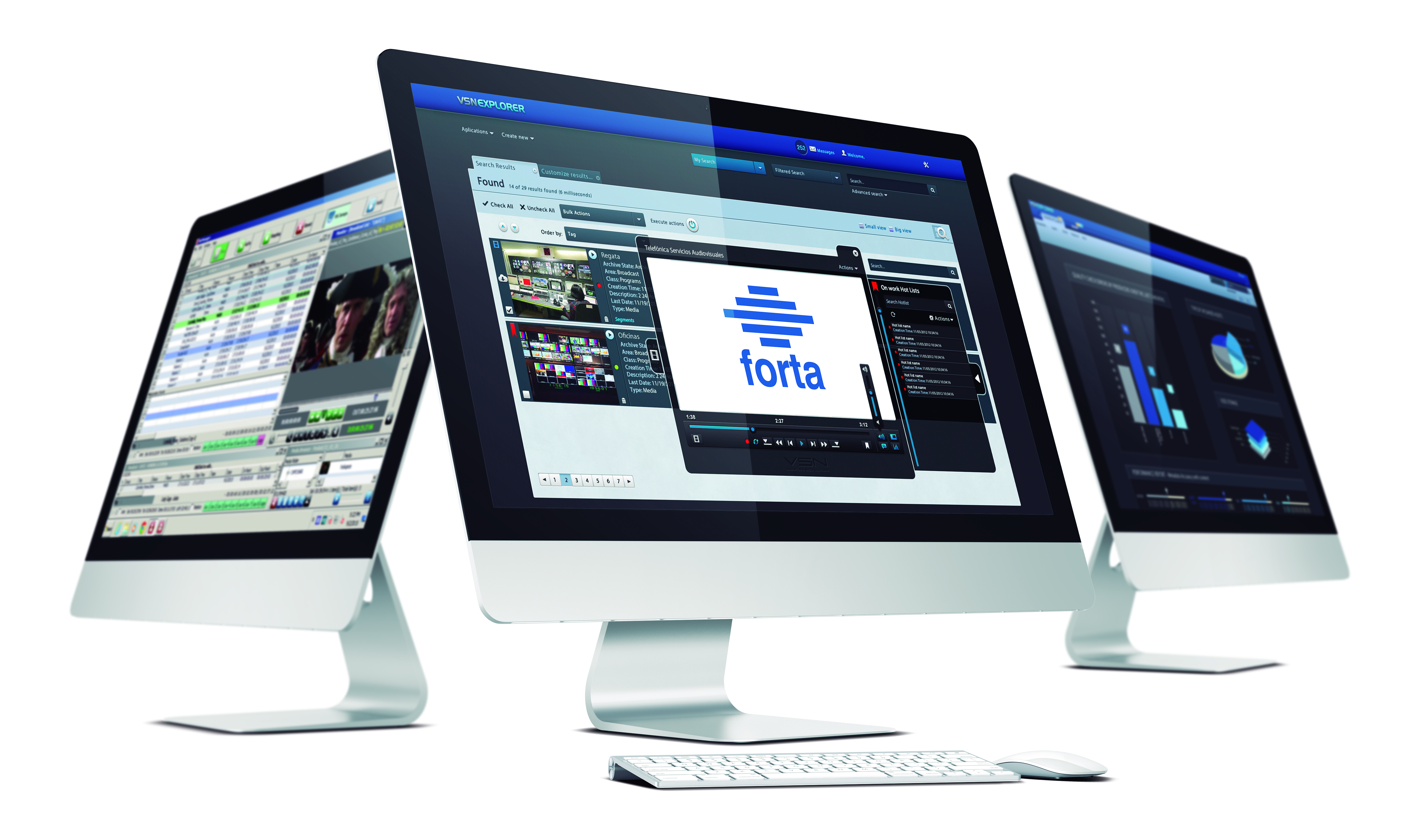 VSN is awarded with FORTA Digital content management system